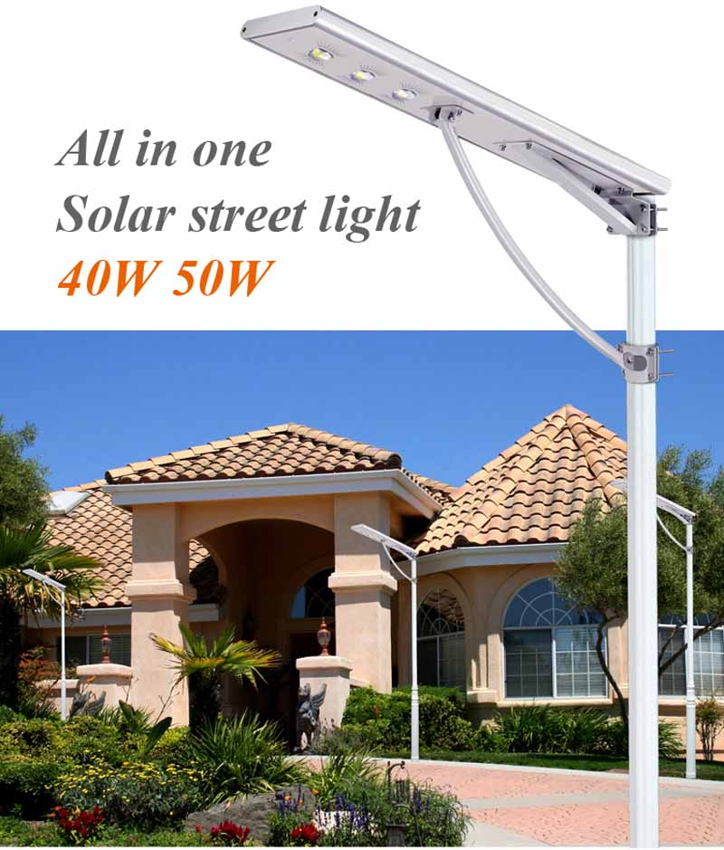 Hot sale all in one outdoor led solar street light