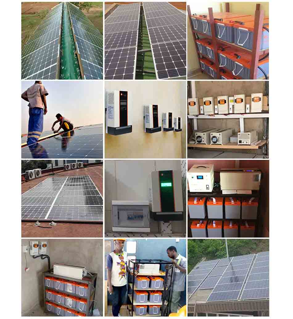 3kw 48V Solar Power System Home Solar Energy Systems