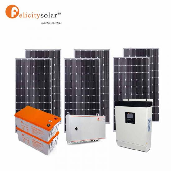 3kw Hybrid Solar Inverter With Mppt For Home Solar Energy System